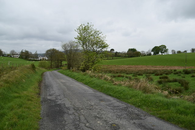 Ballykeel Road by Kenneth  Allen