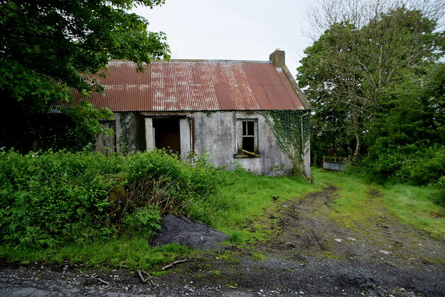 Ruined cottage, Ballykeel by Kenneth  Allen