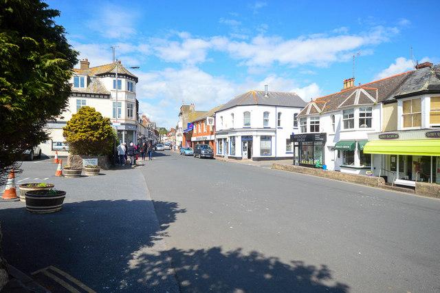 High Street, Budleigh Salterton