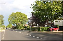 SP3977 : Rugby Road, Binley Woods by David Howard