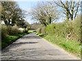 TG0937 : Hempstead  Road  toward  Holt by Martin Dawes
