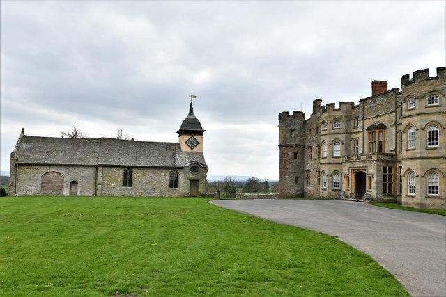 Croft Castle and St. Michael's Church