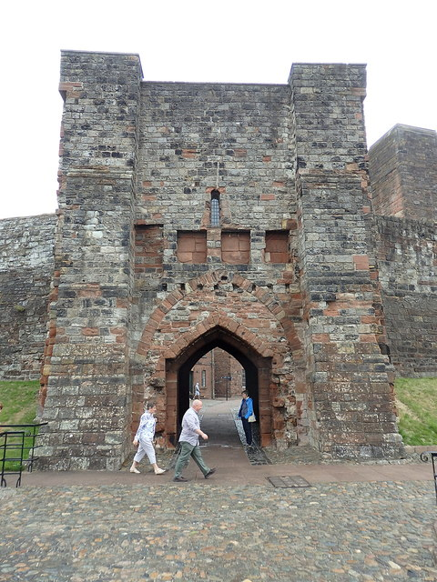 Carlisle Castle, inner gate house