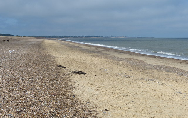 The beach at Dunwich, Suffolk