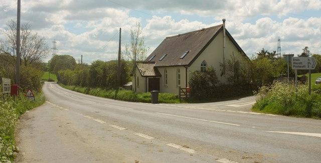 The Chapel, Chapelton Cross