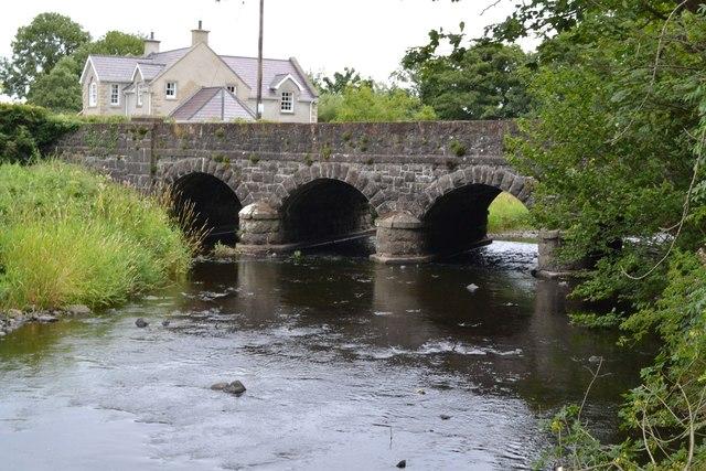Glenone Bridge over Clady River