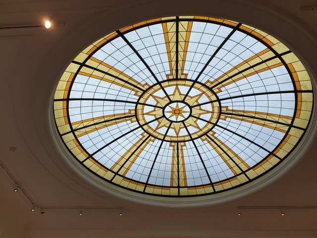Glass Ceiling, Pitzhanger Manor House, Ealing