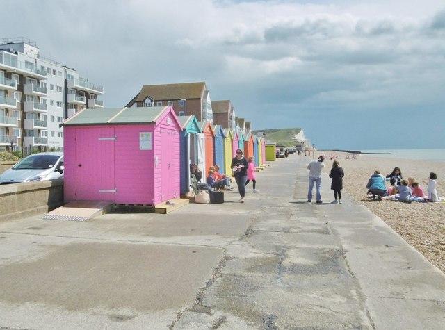 Seaford, beach huts