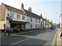 TG0738 : High  Street.  Holt by Martin Dawes