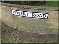 TM4977 : Covert Road sign by Adrian Cable