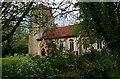TL9650 : St Mary, Kettlebaston - south elevation by David Kemp
