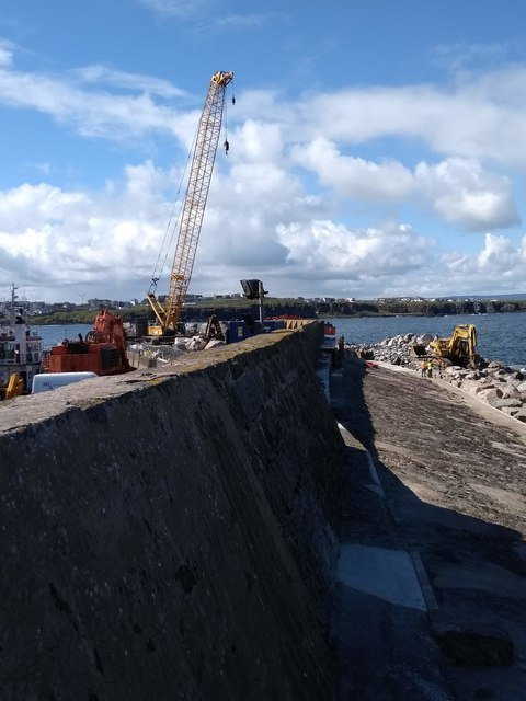 Portrush Harbour improvements