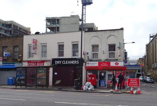 Stepney Post Office and shops