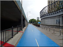 TQ3981 : London Cycle Superhighway 3 (CS3) by JThomas