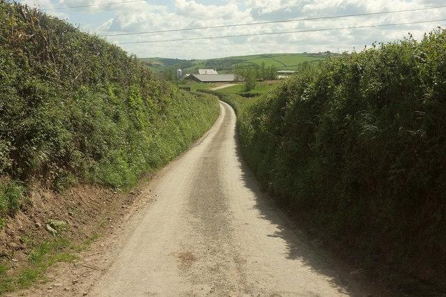 Lane to Bustley Bridge