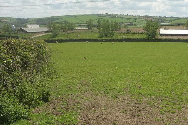 Farm buildings, Bustley View