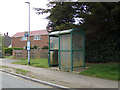 TM4977 : Bus Shelter on Green Lane by Geographer