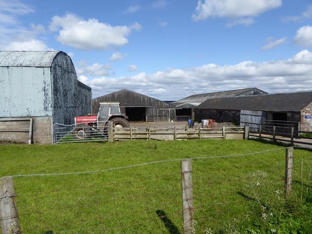 Farmyard at Pedderhill Farm
