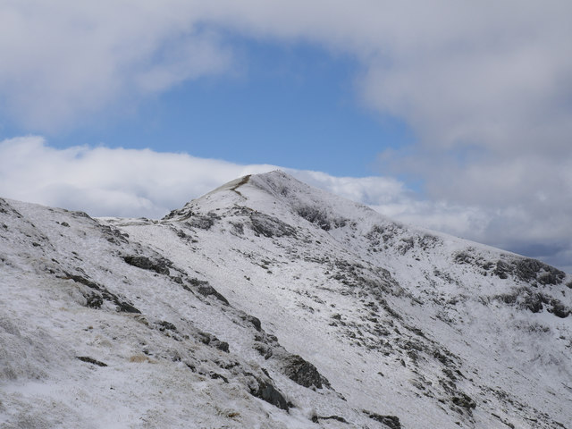 Looking back to Beinn Ghlas
