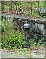 SJ1957 : Water fountain at Nant by Alan Murray-Rust