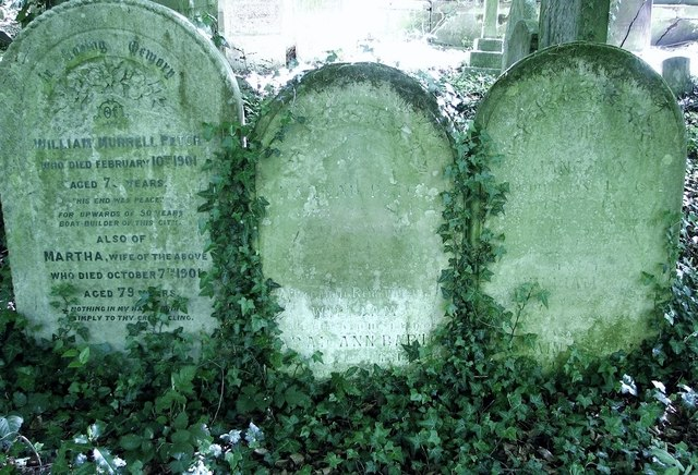 Graves of the Petch Family