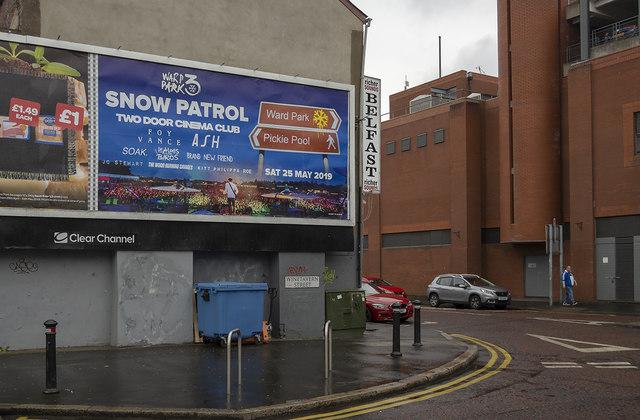 Advertising Hoarding, Belfast