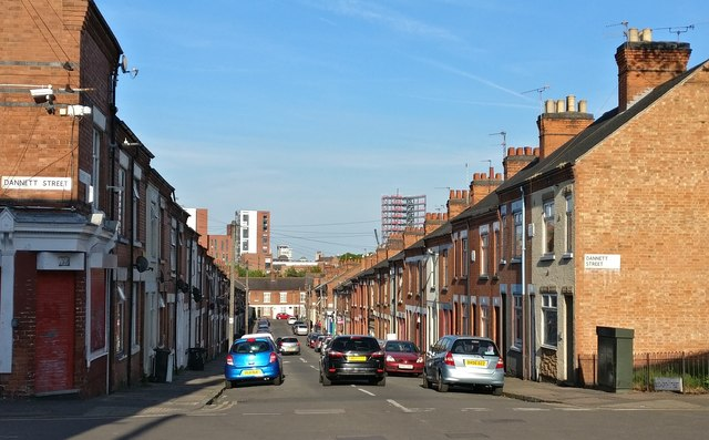 Bosworth Street in Leicester
