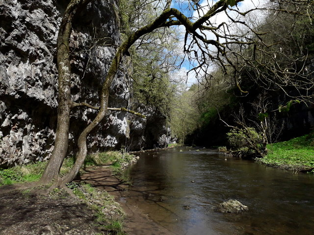 Chee Dale: a spectacular stretch of the Wye