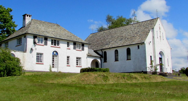 Grade II Listed presbytery and church, Lampeter