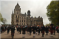 NC8500 : Massed Pipe Bands at Dunrobin Castle, Sutherland, 2019 by Andrew Tryon