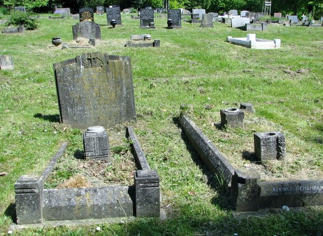 Graves in Section O