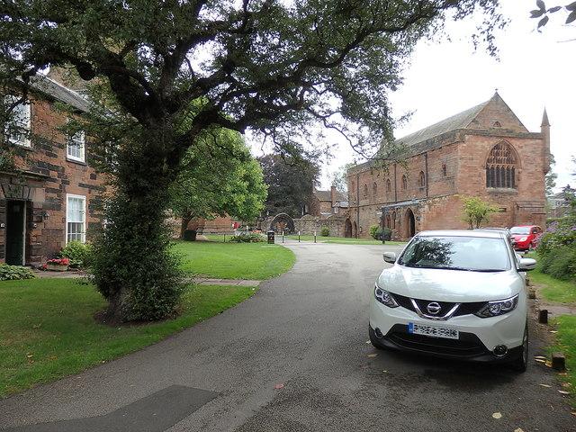 Cathedral precinct, Carlisle