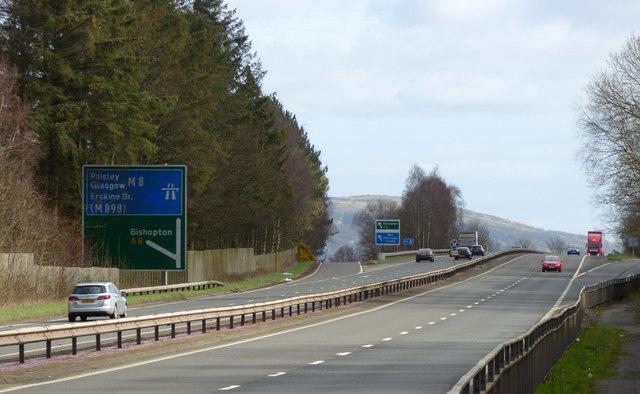 M8 motorway Junction 31