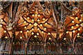 SJ6552 : Nantwich, St. Mary's Church: Choir stalls detail 5 by Michael Garlick