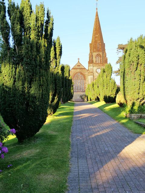 The Parish Church of St Lawrence, Barton
