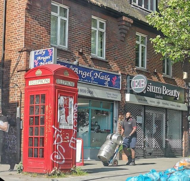 K2 Telephone Kiosk, Forest Hill