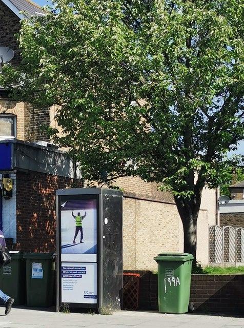 Telephone Kiosk, Stanstead Road, Honor Oak