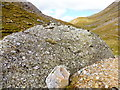 NC3019 : Conglomerate boulder towards east end of Bealach Traligill by Alan Bowring