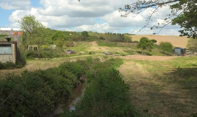 Stream near Penhale