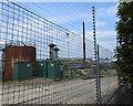 SU4603 : Dereliect Oil Refinery works by Terry Shaw