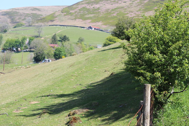 View towards Gwrhyd, Cwm Tyleri