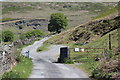 SO2206 : Cattle grid and gate, Cwm Tyleri by M J Roscoe