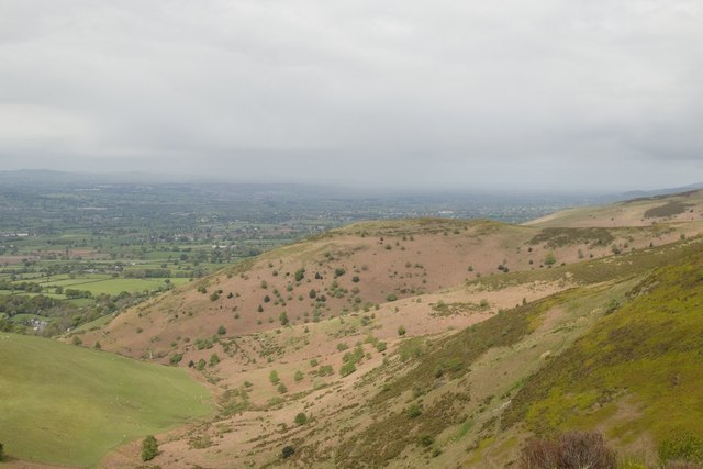 Moel y Gaer viewed from the Offa's Dyke path