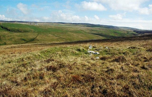 Moorland Cairn At Lower Killeyan