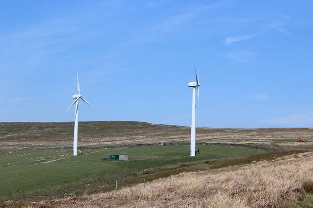 Wind turbines, Blaen-tillery
