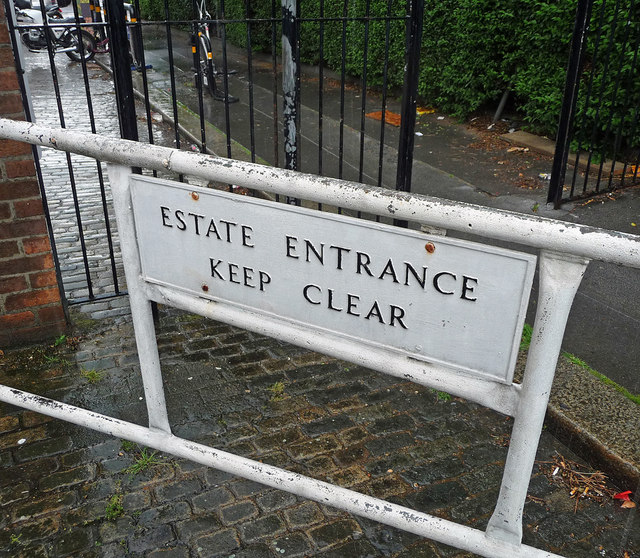 Sign, Roscoe Street