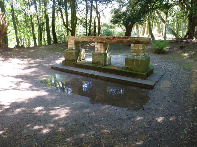 Restored altar