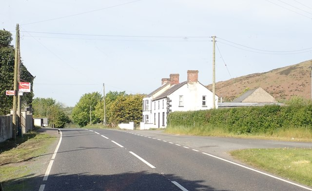 B30 approaching Tierney's Crossroads north of Mullaghbawn