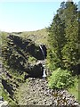 NY7637 : Waterfalls on the River South Tyne by Oliver Dixon
