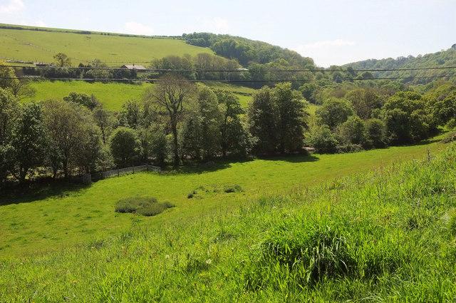 Avon valley below Loddiswell